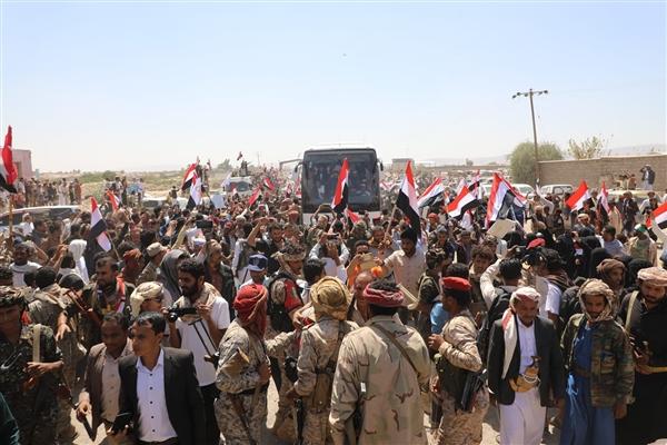 انتهاء أوسع عملية لتبادل الأسرى والمختطفين بين الشرعية ومليشيات الحوثي