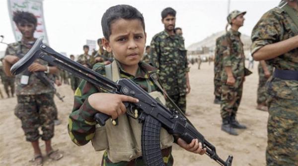 مليشيات الحوثي جندت 4600 طفل منذ بداية العام الجاري