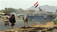 قوات الجيش تهاجم مواقع المليشيا محيط القصر الجمهوري شرق تعز