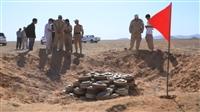 """""""مسام"""" ينتزع أكثر من 1,200 لغماً في اليمن خلال أسبوع"""