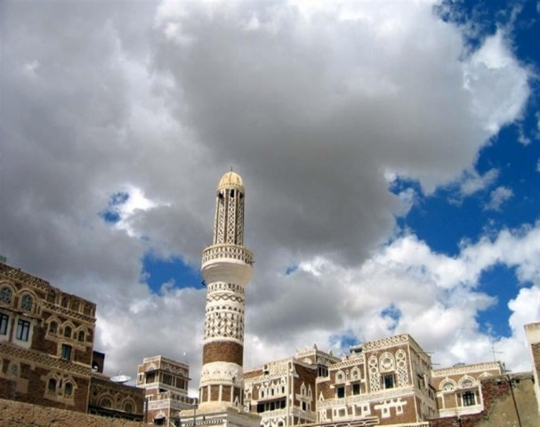 Worshippers stop praying in Sana'a mosque