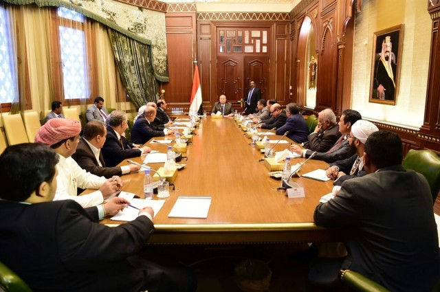 President Hadi directs to pay salaries of Yemen's army
