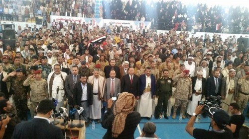 Yemenis commemorate sixth anniversary of youth revolution