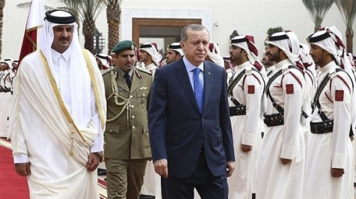Emir of Qatar, Turkish President discuss Yemen's situation
