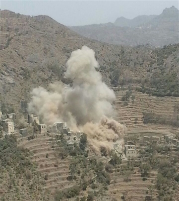 Houthis, Saleh blow up houses of people in Otomah