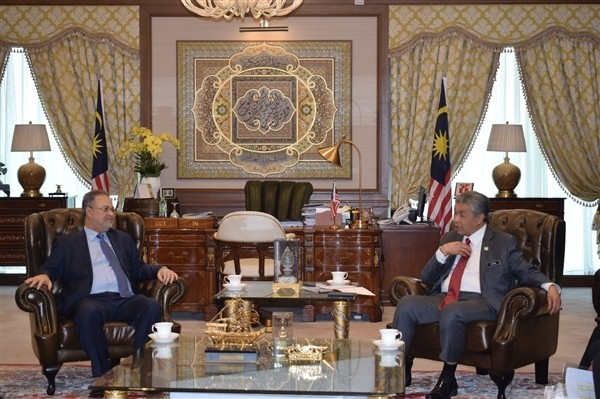 Yemeni FM meets Malaysian Deputy Minister of Home Affairs