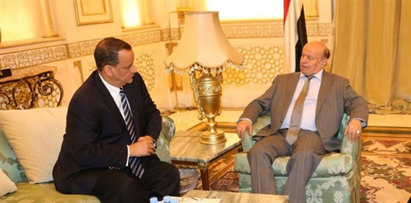 President Hadi has reservations about plan of UN Envoy