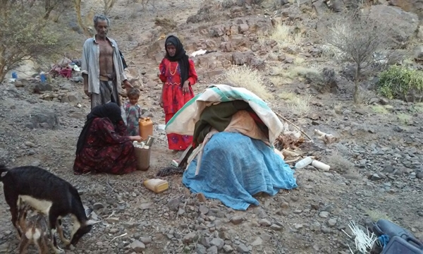 Yemen: Over 2,500,000 persons displaced due to war