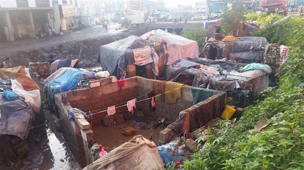 جرف طفل وتضرر 40 منزلاً بسيول الأمطار في إب