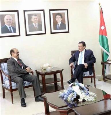 السفير العمراني يلتقي رئيس مجلس النواب الأردني