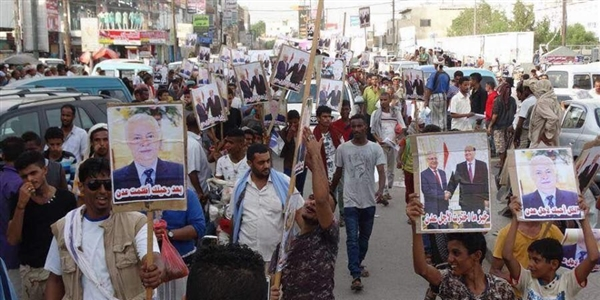 Demonstrations demand to return Aden governor