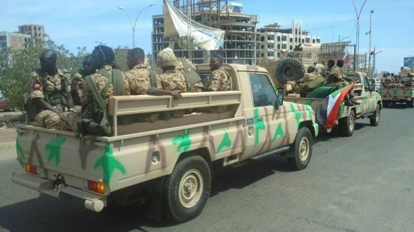Sudanese forces arrive in Aden