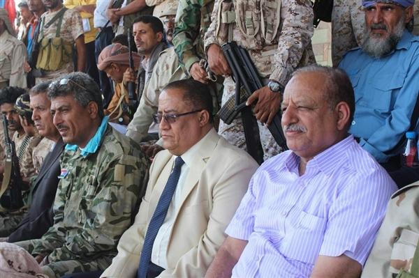 محافظ لحج في احتفال بذكرى اكتوبر: النضال مستمر ضد الإماميين الجدد