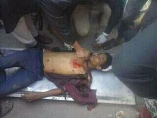 مقتل شاب نازح في إب يعمل سائق دراجة نارية في ظل فوضى أمنية