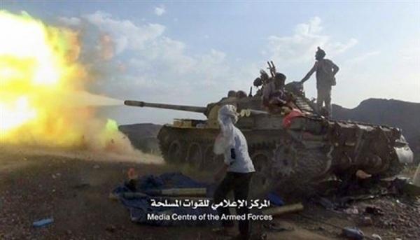 اشتداد المعارك في الضالع ومقتل وجرح أكثر من 10 من المليشيا الانقلابية بيعيس