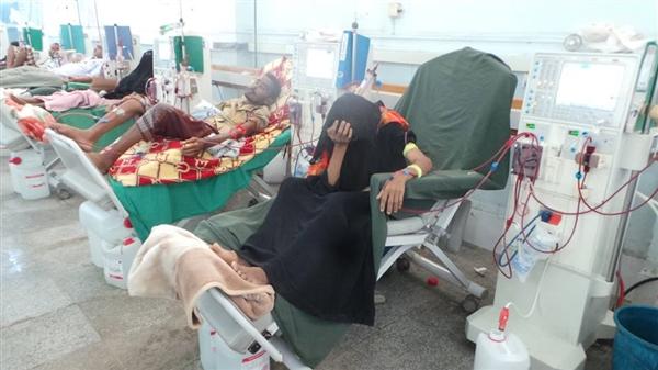 مستشفى الثورة في تعز يوجه نداءً عاجلاً لإنقاذ (400) شخصاً من مرضى الفشل الكلوي