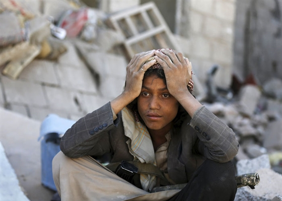 Houthi-Saleh militias expose children to acute violence