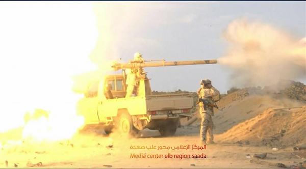  قوات الجيش  تصل أولى مديريات الجوف من جهة صعدة
