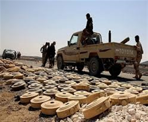 Army defuses 5800 landmines in past few days in Aljawf