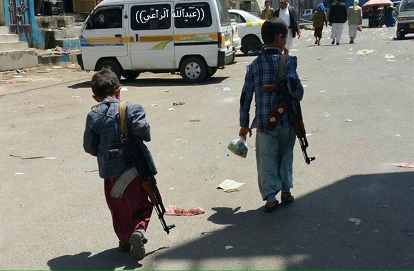 Houthis steps up recruitment of child fighters