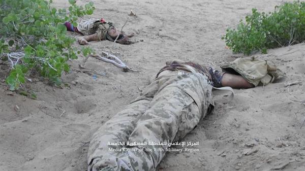مصرع أكثر من 20 حوثياً في صد هجوم على مواقع الجيش في جبهة ميدي