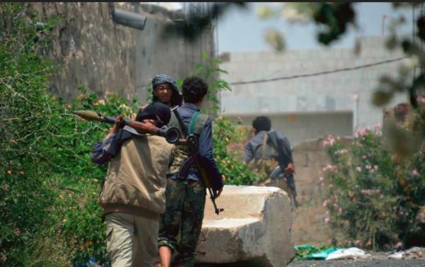 مقتل ثلاثة حوثيين بينهم قيادي برصاص الجيش الوطني شرق تعز