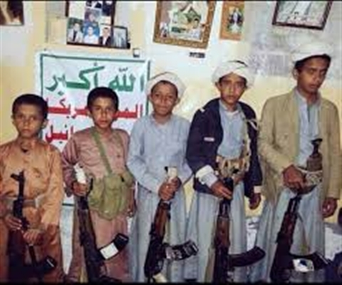 Houthi militia deploy new children to warfronts