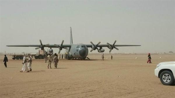 انطلاق جسر إغاثي جوي من الرياض إلى مأرب ضمن العمليات الإنسانية الشاملة في اليمن