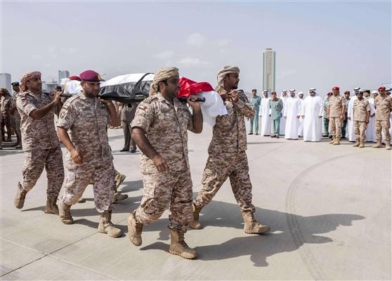 القوات الإماراتية تعلن استشهاد أحد جنودها المشارك ضمن قوات التحالف في اليمن
