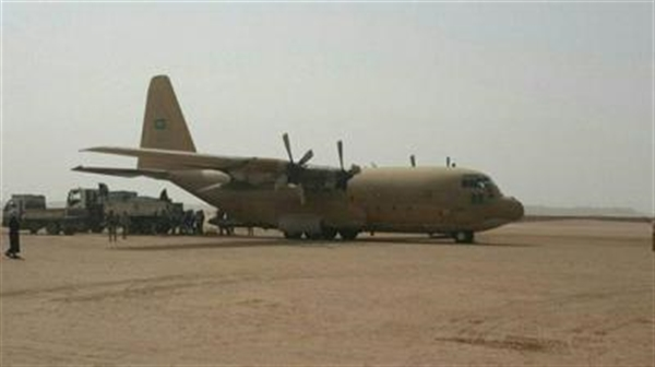 Saudi humanitarian aid flights arrive in Marib
