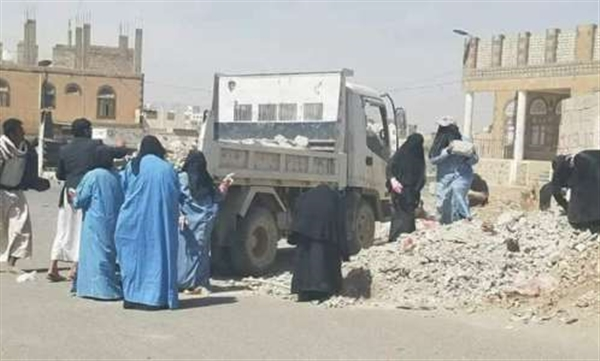 Female prisoners allegedly performing penal labor in Houthi jails
