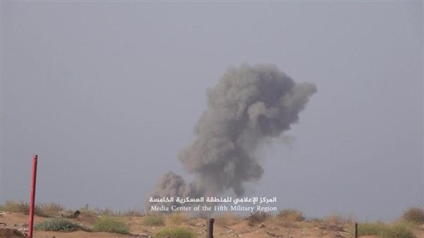 التحالف يدمر منصات صواريخ ومخابئ سرية في حرض وميدي ومصرع عشرات الحوثيين
