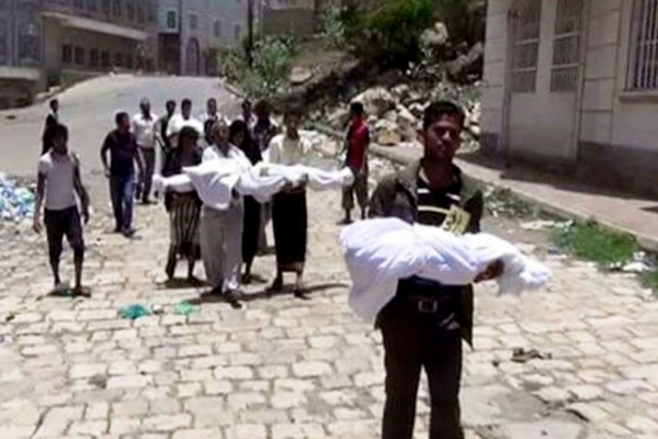 Relief Coalition: 106 families lost their breadwinner in Taiz last month