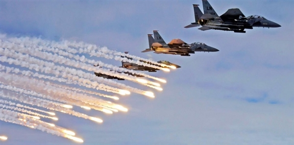 Arab Coalition destroys Houthi weapons in Beidha