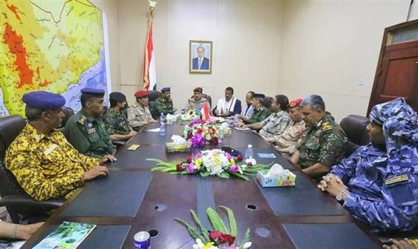 اللجنة الأمنية العليا تعقد اجتماعاً برئاسة المقدشي: لا تهاون مع المخربين والعابثين بالأمن والاستقرار