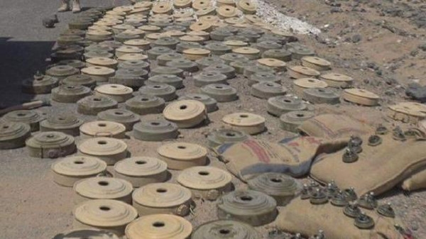 Houthis detonate new houses by landmines