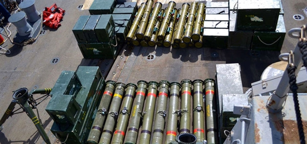 Security forces seize arms shipment on its way to Houthis