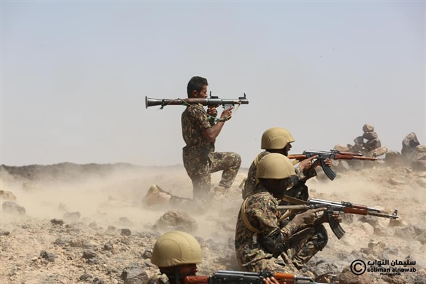 Marib: Arab Coalition bombs sites of Houthis in Sarwah