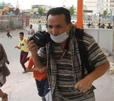 A young journalist lost to Houthi sniper on this day