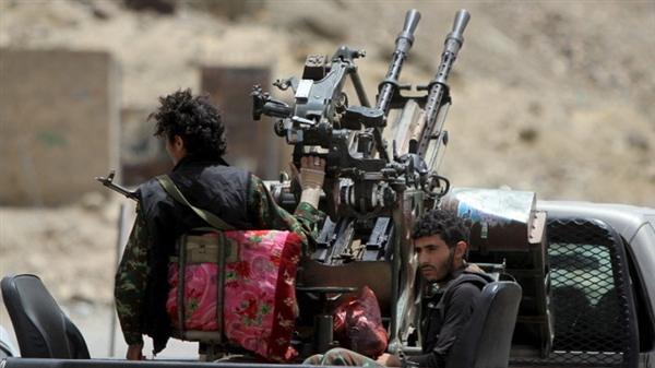 Houthi shelling forces Beidha villag force residents to leave