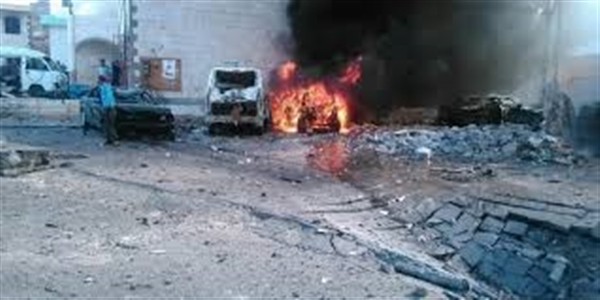 Car bomb explodes near Beidha mosque, no casualties