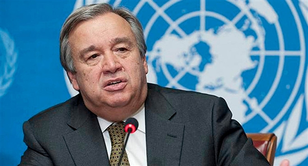 UN chief says Houthi must be disarmed