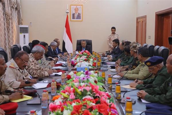 رئيس الوزراء يرأس اجتماع اللجنة العسكرية والأمنية ويشدد على توحيد العمل تحت وزارتي الدفاع والداخلية