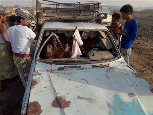 مقتل شخص وإصابة آخر بقصف حوثي استهدف إحدى قرى لحج