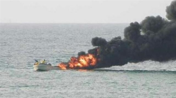 Arab Coalition destroys two Houthi boat bombs in the Red Sea