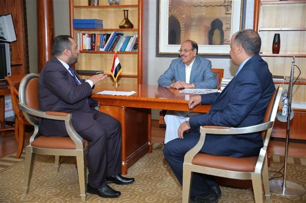 نائب الرئيس يستقبل رئيس اتحاد طلاب اليمن في السودان ويشدد على ضرورة حل قضايا الطلاب بالخارج
