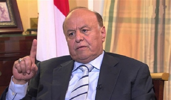 Hadi calls for military solution to liberate Hodeidah