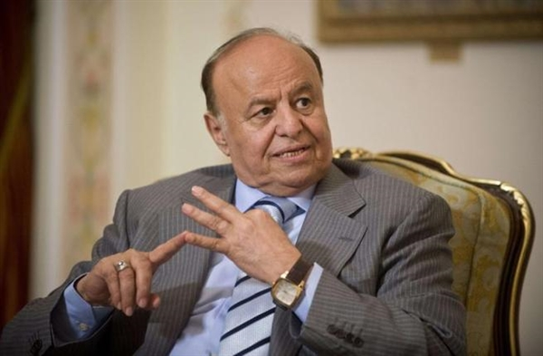 President Hadi: Houthi will get lost like dust, trailed by curses