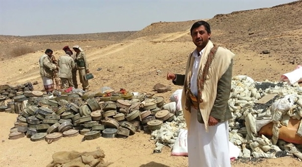 Army destroys landmines left by Houthis in Shabwa