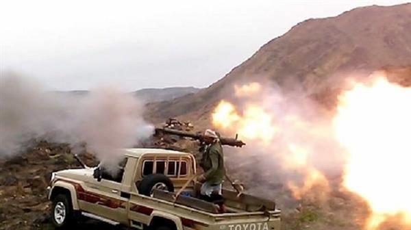مصرع 8 من عناصر المليشيا وتدمير طقم بكمين محكم لمقاومة البيضاء